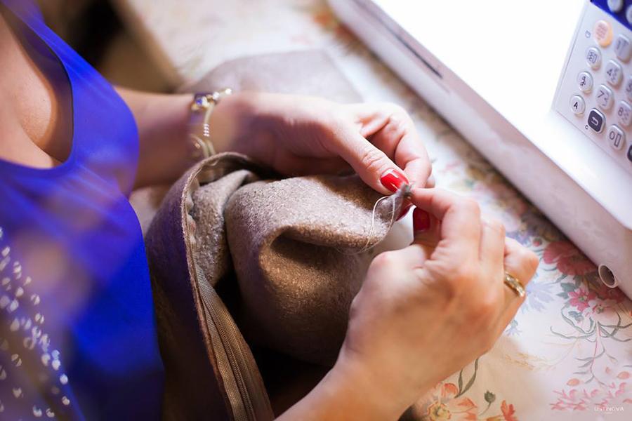 установка молнии платье валяное с длинным рукавом мастер класс нуновойлок мокрое валяние felted dress felting clothing nuno organic wool
