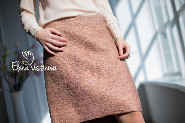 валяная юбка из натуральной шерсти и шелка нуно войлок елена устинова мастер класс валяние elena ustinova felt skirt eco fashion eco friendly nunu hand made мокрое валяние
