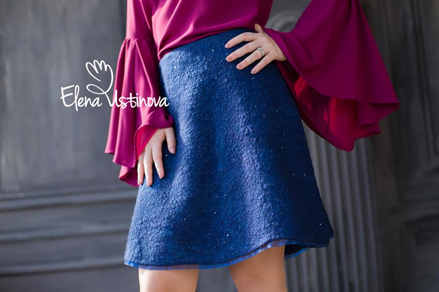 """Видео курс """"4 базовых модели юбки своими руками. Полное пособие по валянию для начинающих."""""""